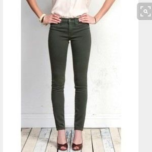 🌸Henry and belle super skinny jeans in olive!!🌹
